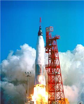 Launch of Mercury-Atlas