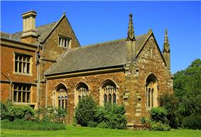 The Chapel at Launde Abbey, part of the original priory buildings