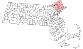 Location in Essex County in Massachusetts imap_caption              =