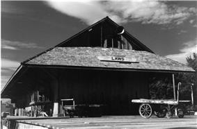Laws station in 1998.