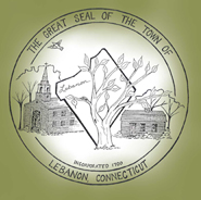 Official seal of Lebanon, Connecticut
