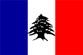 Lebanon French Mandate Flag2.png