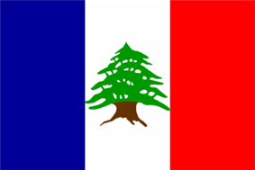 Lebanon French Mandate Flag3.png