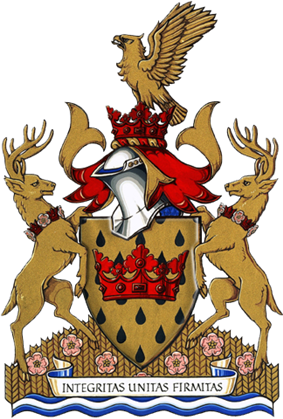 Coat of arms of Leduc