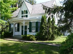 Exterior view of Erland Lee Home