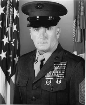 black & white photograph of Lewis G. Lee