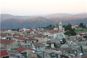 Skyline of Lefkara