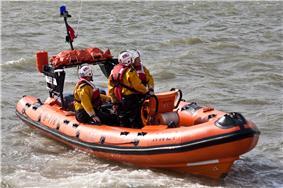 RNLI Atlantic 75 - Leigh-on-Sea Lifeboat B-776