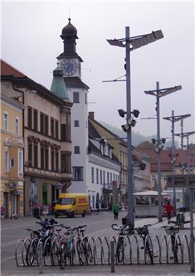 Main square and old city hall