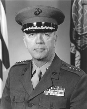 A black and white image of XXX, a white male in his Marine Corps dress uniform