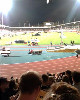 Last athletics event (August 2006)