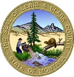 Seal of Lewis and Clark County, Montana