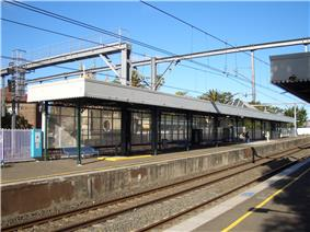 Lewisham Railway Station platform