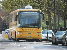 2005 LibDem battle bus