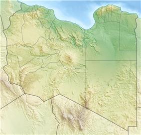 Bikku Bitti is located in Libya