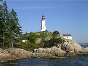 Point Atkinson Lighthouse as seen from the water