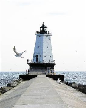 Ludington North Breakwater Light
