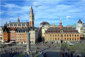 Grand' place, Lille city centre.