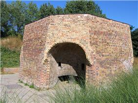 A preserved lime kiln in , London