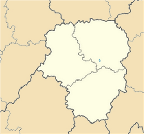 Laurière is located in Limousin