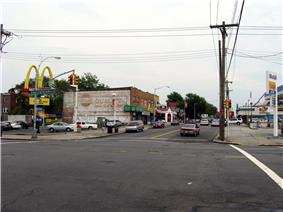 Linden and Springfield Boulevards in Cambria Heights.
