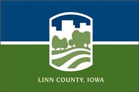 Flag of Linn County, Iowa
