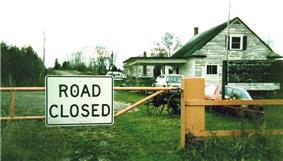 closed border station photo