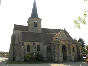 The church of Our Lady, in Livilliers