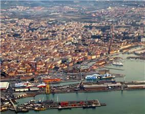 View of Livorno