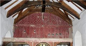 Painted rood loft