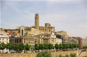 La Seu Vella cathedral in Lleida