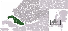 Location of Goeree-Overflakkee