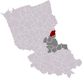 Houtkerque in the arrondissement of Dunkirk