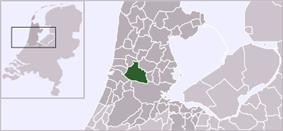 Location of Zaandam
