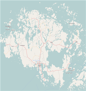 Mariehamn is located in Åland