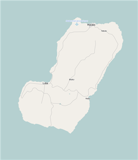 Malabo is located in Bioko