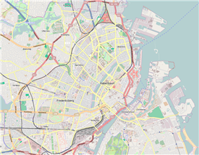 2015 Copenhagen shootings is located in Copenhagen