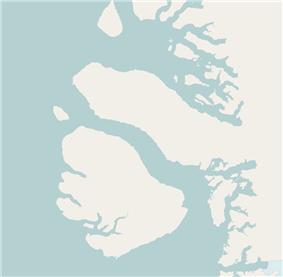 Qeqertarsuaq is located in Disko Bay
