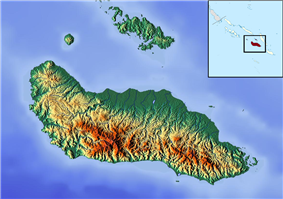 Tulagi is located in Guadalcanal