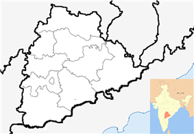 Hyderabad is located in Telangana