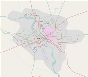 OSM is located in Mosul