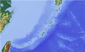 Third Taiwan Strait Crisis is located in Ryukyu Islands