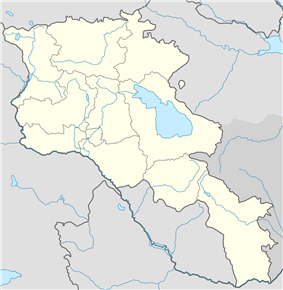 Yeghegnadzor  Եղեգնաձոր is located in Armenia