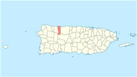 Location of Hatillo in Puerto Rico