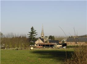 The village center