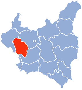 Location of Łódź