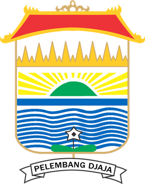 Official seal of Palembang