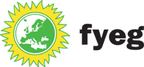 Logo of the Federation of Young European Greens