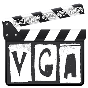 Logo of VGA, the film club