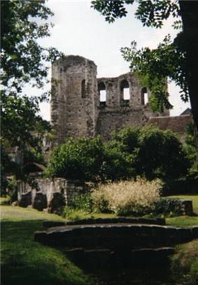 Ruins of the Tour de Ganne